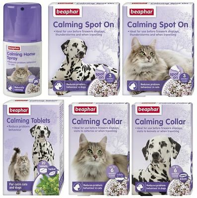 Beaphar Calming - Various Choices To Help With Stress Relief For Cats Or Dogs
