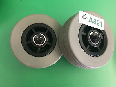 Front Caster Wheels for Quantum 600 Power Wheelchair  ~set of 2 ~ A821