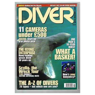 Diver Magazine June 2004 MBox2813 The A-Z of Divers - Scylla: the  wreck tour