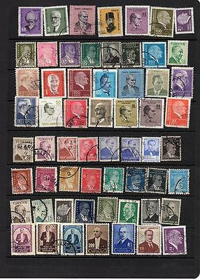 TURKEY - EUROPE -  COLLECTION OF USED STAMPS  - KILOWARE Lot (TUR 503)