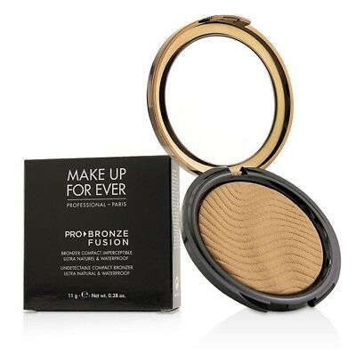 NEW Make Up For Ever Pro Bronze Fusion Undetectable Compact Bronzer - # 20M 11g