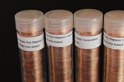 3 each 2012 canada penny roll mag. or non mag. unc from RCM MINT last of last