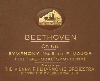 VIENNA PHILH. ORCH. & WALTER Beethoven: Symphony No. 6 F-Dur Op. 68 78rpm  A264
