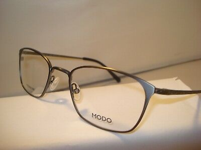 32dc67a93b AUTH NEW MODO EYEGLASSES FRAME 4043 TITANIUM ANTIQUE PEWTER w CASE ...