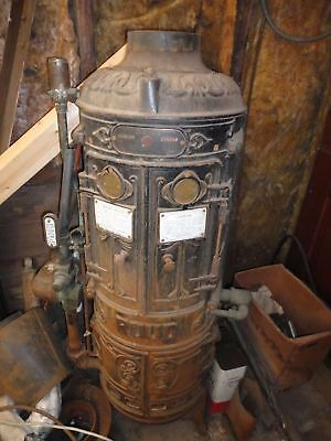 Antique Ruud Tankless Water Heater 1907