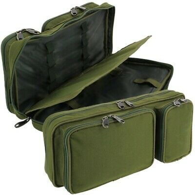 Buzz Bar Tackle Bag for Buzzers Bite Alarms Bank Sticks + Rod Rest Carp Fishing