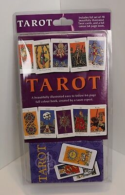 Tarot Cards And 64 Page Book / New And Sealed / Illustrated Tarot Deck Occult