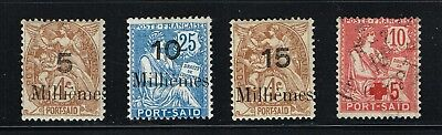 France, Offices In Egypt, Port Said, Small Lot