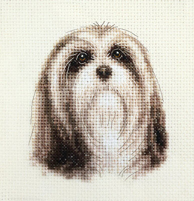 LHASA APSO ~ Dog ~ Full counted cross stitch kit - with all materials
