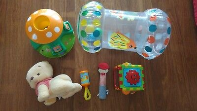 Fisher-Price Pooh Babies Magic Touch 'n Crawl & Soft Toy
