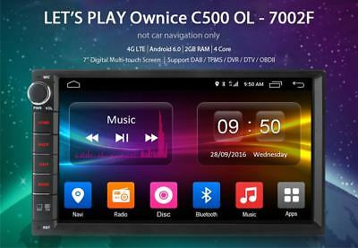 "Ownice C500 OL-7002F 7"" Android 6.0 Car Navigation with DVR Bluetooth 4 WiFi 4G"
