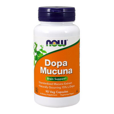 NOW FOODS DOPA Mucuna 90 capsule - supporto cognitivo