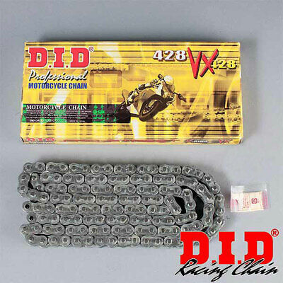 DID 428 VX Pro-Street Series X-Ring Chain (Natural) 90 Links