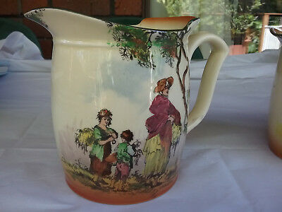 Royal Doulton - The Gleaners Jugs - set of 3 graduated  sizes  (Prinstine)