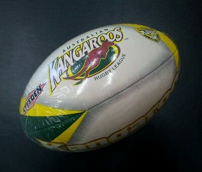 Steeden Classic Australian Kangaroos Rugby League ARL Size 5 Football NRL *NEW*