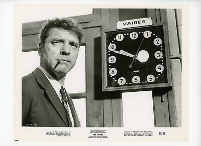 THE TRAIN Original Movie Still 8x10 Thiller, Burt Lancaster 1965 5525