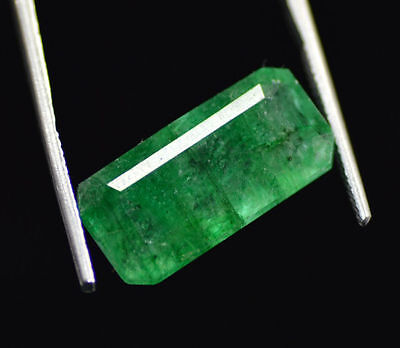Top Quality 12.50 Ct Natural Emerald Shape EGL Certified Green Emerald