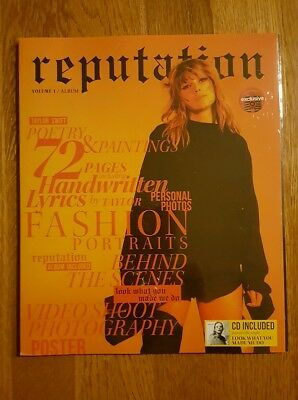 Taylor Swift Reputation Vol. 1 Target Exclusive CD & Magazine BRAND NEW & SEALED