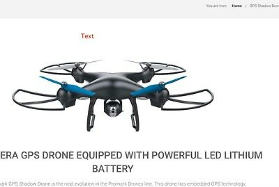 REPLACE PARTS FOR  Promark GPS Shadow Drone