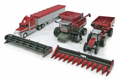 Massey Ferguson 4 piece Grain Harvest Set - 1/64