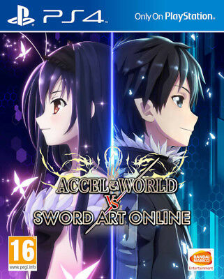 Accel World vs Sword Art Online PS4 * NEW SEALED PAL *