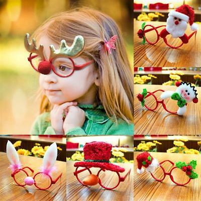 Funny Children's Adult Glasses Frames Christmas Fancy Dress Party Useful Q03