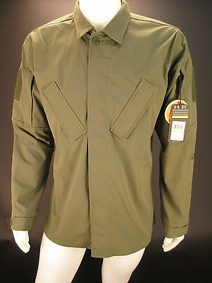 Under Armour Men's Tactical Duty Fitted Shirt 1242373 390 Olive Drab Green