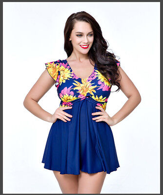 Rhyme Lady New Arrival Women beach dress flower swimwear big size