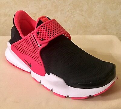 cheaper 79c90 aede2 YOUTH GIRLS SOCK Dart GS Athletic & Running Shoes Black & Racer Pink  904277-002
