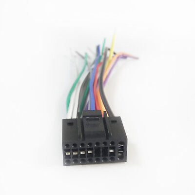 WIRING HARNESS FITS KENWOOD DDX24BT, DDX340BT, DDX374BT ... on