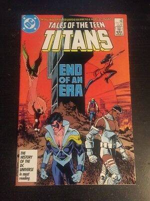 Tales Of Teen Titans#78 Incredible Condition 9.2(1987) Barreto Art!!