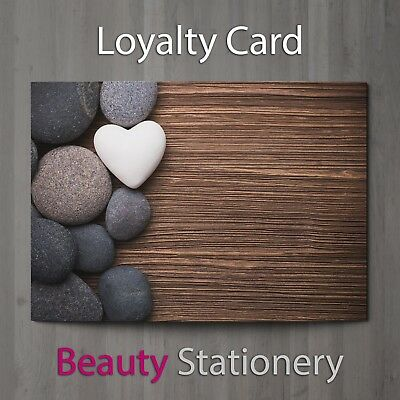 Loyalty Card Beauty Salon Hairdressing Spa Massage Therapist Makeup A8 Mini
