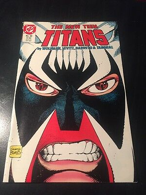 New Teen Titans#30 Incredible Condition 9.0(1987) Brother Blood App,Barreto Art