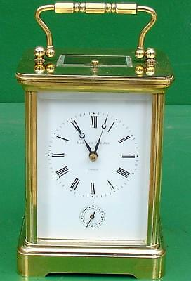 Matthew Norman 1751 Striking Repeater Alarm Grande Corniche 8 Day Carriage Clock