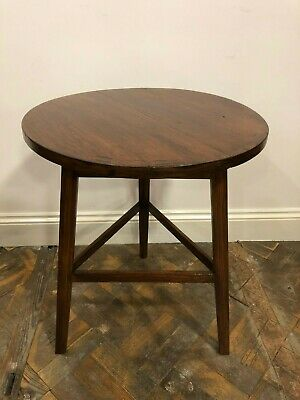 Beautiful Antique Stained Pine Cricket Table - Delivery Available
