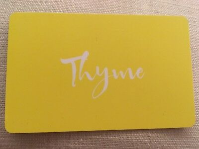 Thyme Maternity Gift Card Totaling 194.85.