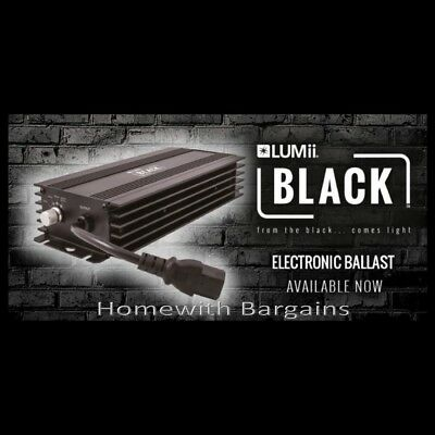 600w LUMii BLACK Electronic Digital Dimmable Ballast 250w 400w 660w Super Lumen