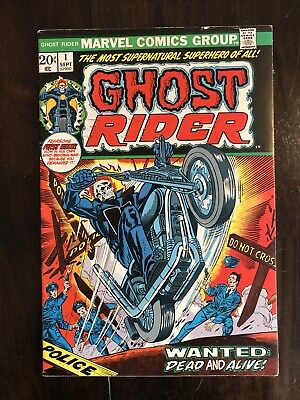 Ghost Rider #1 (Sep 1973, Marvel) High Grade!