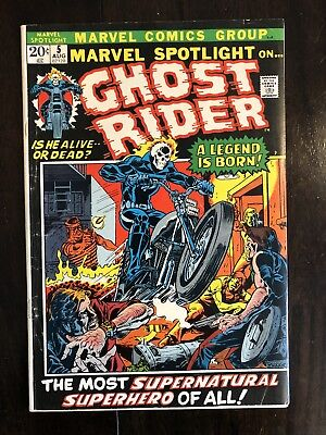 Marvel Spotlight #5 (Sept 1972, Marvel) High Grade! First app of Ghost Rider