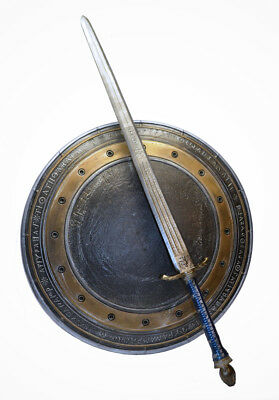 WONDER WOMAN JUSTICE LEAGUE SWORD, SHIELD, and TIARA  prop costume Cosplay