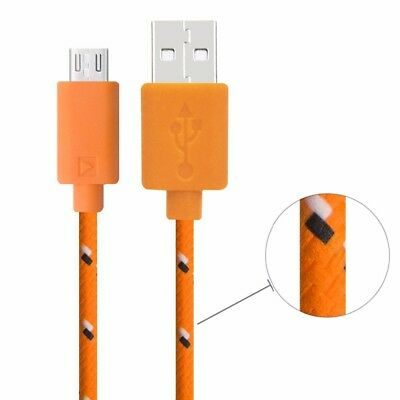 Lot of 3 Braided Lightning iPhone 5 6 7 8 10  USB Cables