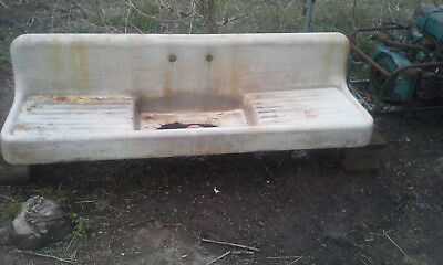 Vintage 19th Century Cast Iron sink
