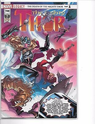 Mighty Thor 700 Wrap-a-Round Cover A 2017, Marvel 50 Legacy 50 pages