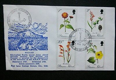 Pitcairn Island scarce 1970 FDC in fine condition
