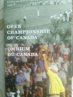 Canada Golf Championship complete booklet in special folder