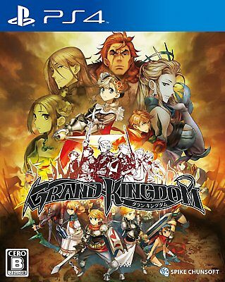 SONY PlayStation 4 / PS4 Japan Grand Kingdom Tracking Number from Japan