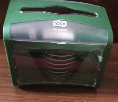 Tork Xpressnap Classic Tabletop Napkin Dispenser, 45XPT Green