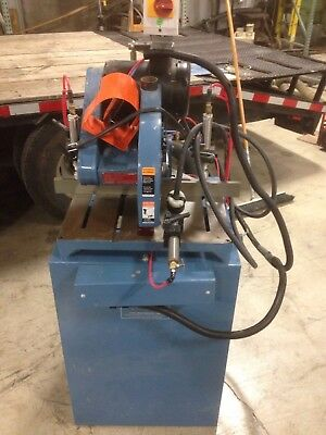 CTD Model F255 Straight Cut Off Saw With Tigerstop System