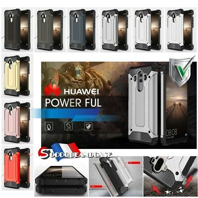 Etui Coque housse Shockproof HYBRID Case Cover Huawei Mate 9 10 pro P9 P10 honor