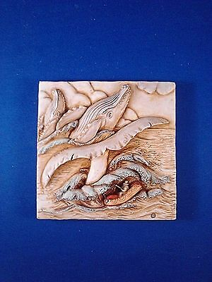 Noah's Park - Whale Watch - Harmony Kingdom picturesque Used No Box